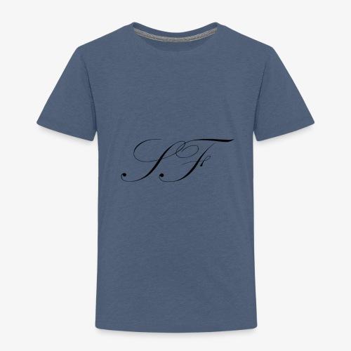 SF HANDWRITTEN LOGO BLACK - Kids' Premium T-Shirt