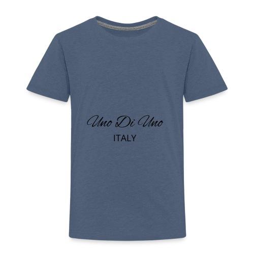 Uno Di Uno simple cotton t-shirt - Kids' Premium T-Shirt