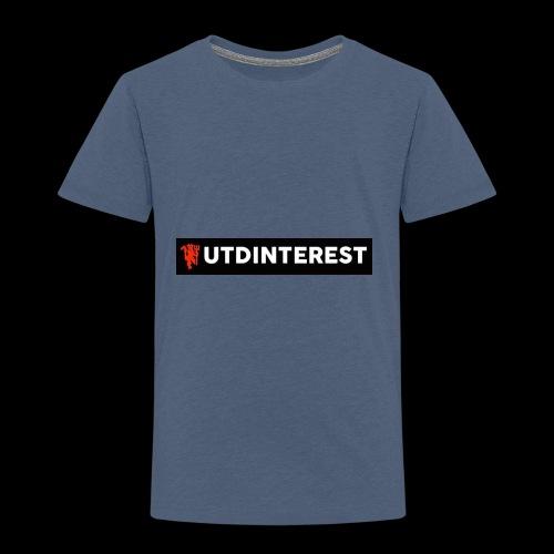 Utd Interest Logo - Kids' Premium T-Shirt