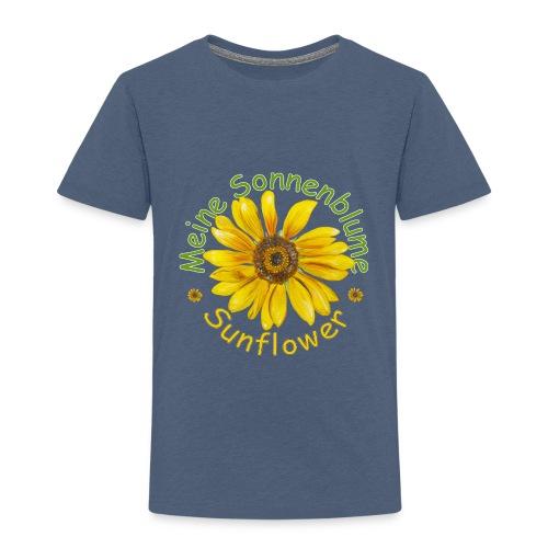 Meine Sonnenblume - Kinder Premium T-Shirt