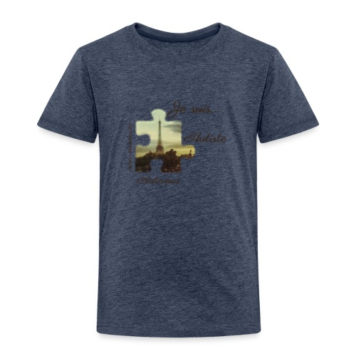 Je suis Autiste - Kinder Premium T-Shirt
