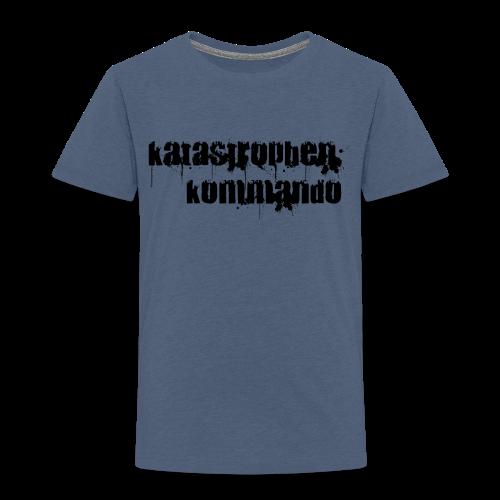 KK Logo schwarz - Kinder Premium T-Shirt
