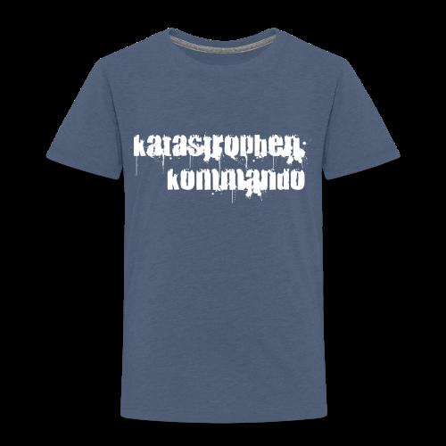 KK Logo weiß - Kinder Premium T-Shirt