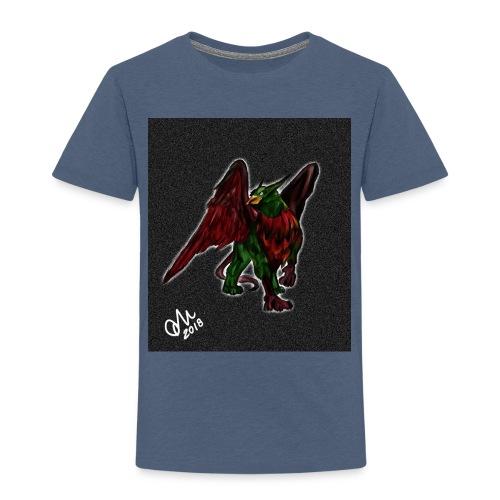 Grifone verde-rosso - Maglietta Premium per bambini