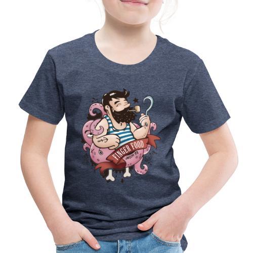 Seemann - Fingerfood - Kinder Premium T-Shirt