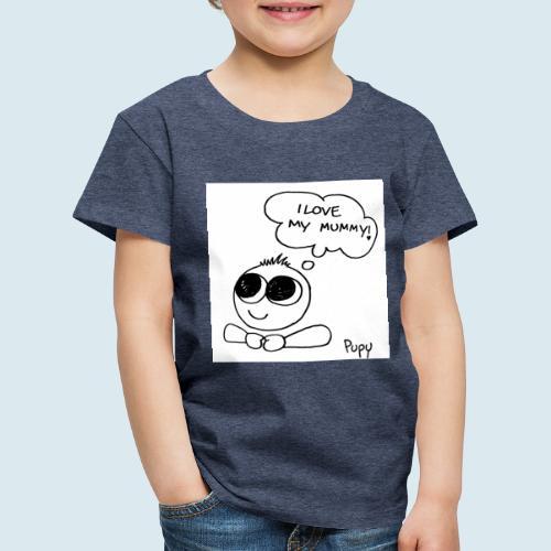 Pupy: I love my mummy - boy - Maglietta Premium per bambini