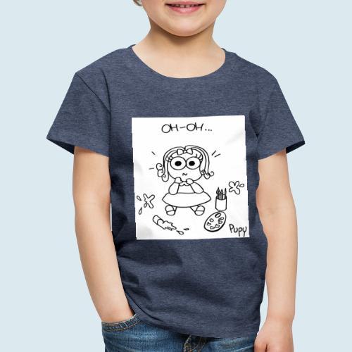 Pupy: oh-oh... - girl - Maglietta Premium per bambini