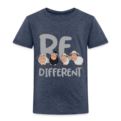 Be different Schafe: Einzigartiges schwarzes Schaf - Kinder Premium T-Shirt