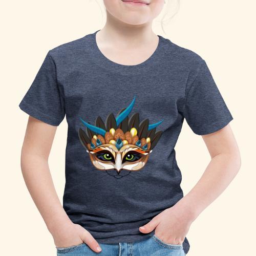 Ein Feuervogelkatzentier - einer wie keiner. - Kinder Premium T-Shirt