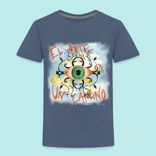 El Arte es un camino - Camiseta premium niño