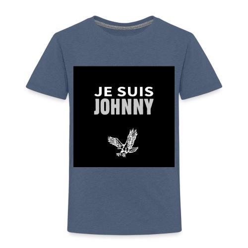 Je suis Johnny aigle fond noir - T-shirt Premium Enfant