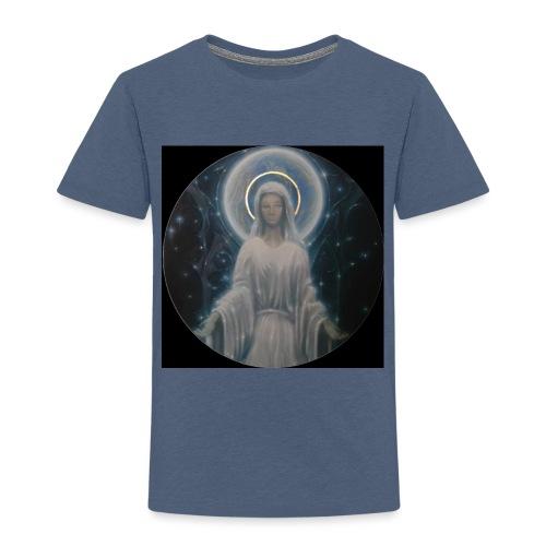 圣母玛利亚 Notre Dame by Jean Libon (Noir) - T-shirt Premium Enfant