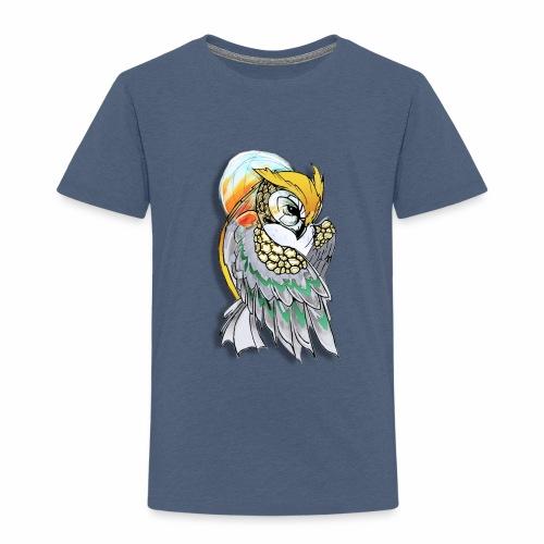 Cosmic owl - Camiseta premium niño