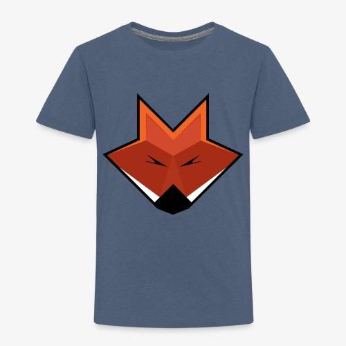 Minimalistic Fox! - Børne premium T-shirt