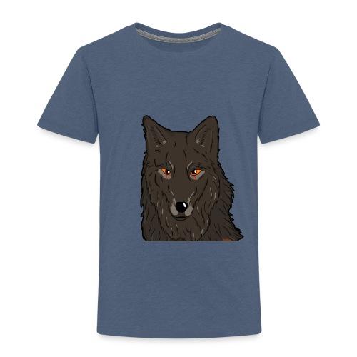 HikingMantis Wolf png - Børne premium T-shirt