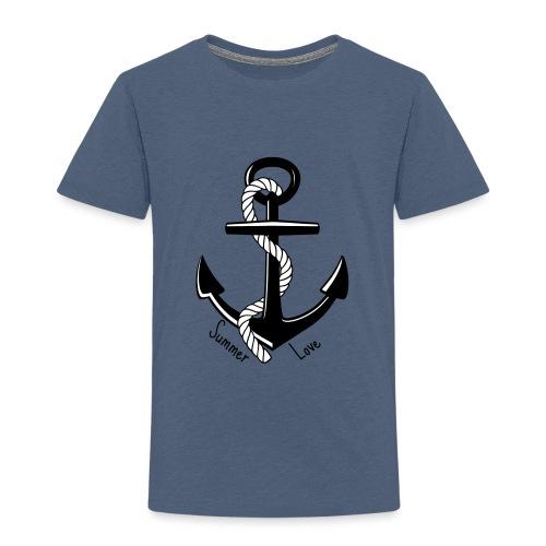 Ancla Summer Love - Amor de verano - Camiseta premium niño