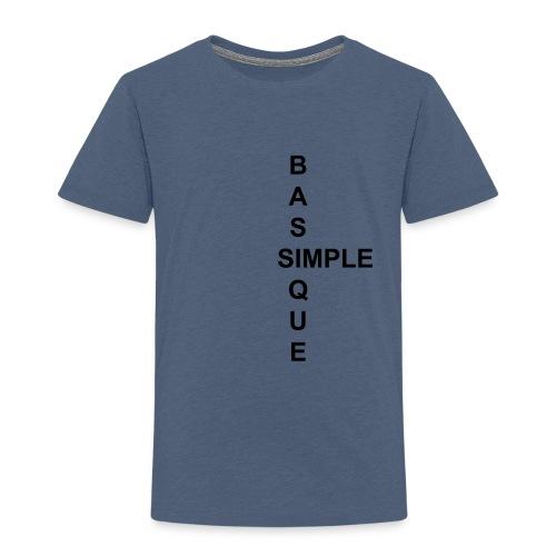 simple2 - T-shirt Premium Enfant