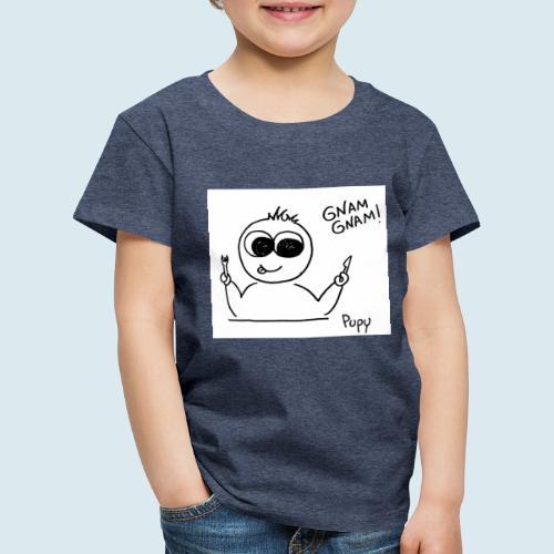 Pupy: gnam gnam! - boy - Maglietta Premium per bambini