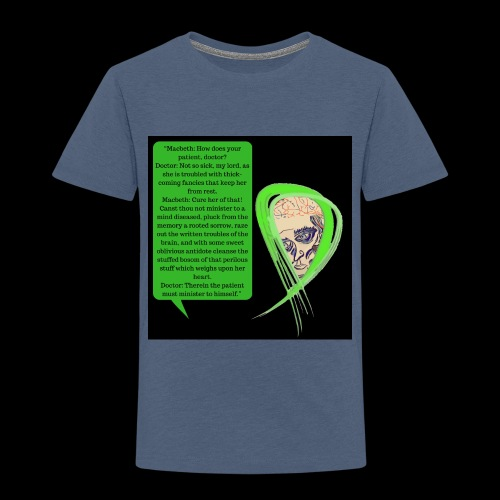 Macbeth Mental health awareness - Kids' Premium T-Shirt