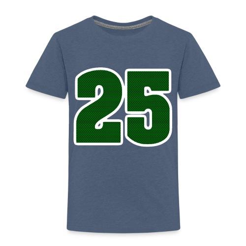 25 Logo - Premium-T-shirt barn