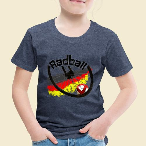 Radball   Deutschland - Kinder Premium T-Shirt