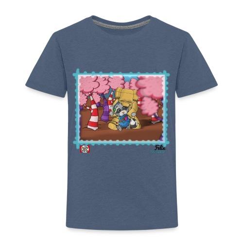 Felix - Børne premium T-shirt