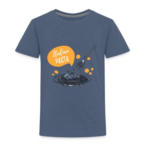 I love Italian Pasta - Camiseta premium niño
