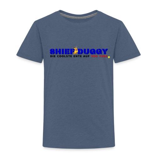 Shief Duggy Die Coolste Ente auf YouTube - Kinder Premium T-Shirt