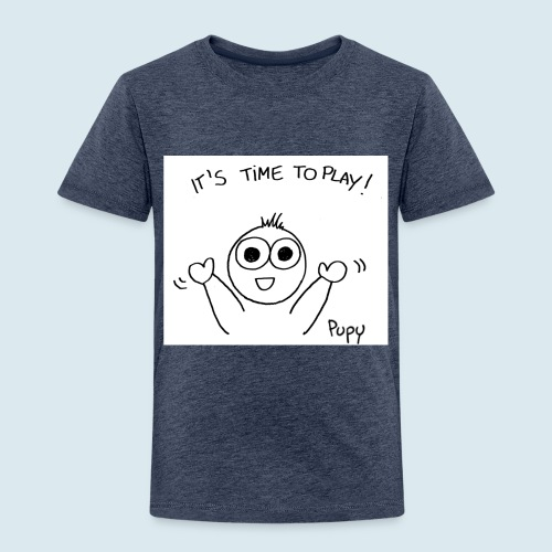 Pupy: time to play! - boy - Maglietta Premium per bambini