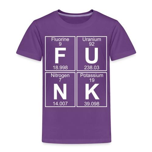 F-U-N-K (funk) - Full - Kids' Premium T-Shirt