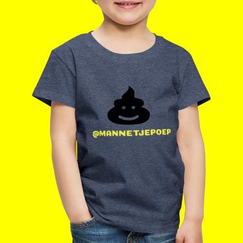 Mannetje Poep Shit - Kinderen Premium T-shirt