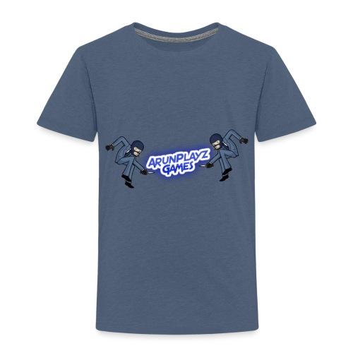 ArunPlayzGames Banner - Kids' Premium T-Shirt