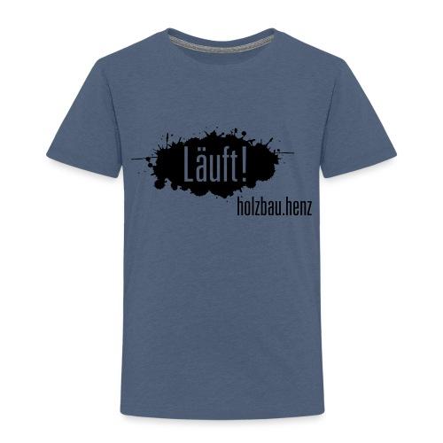 Läuft 2.0 - Kinder Premium T-Shirt