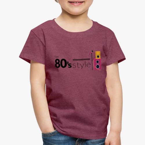 80s - Camiseta premium niño