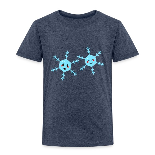 Snowflake kawaii - Kinder Premium T-Shirt