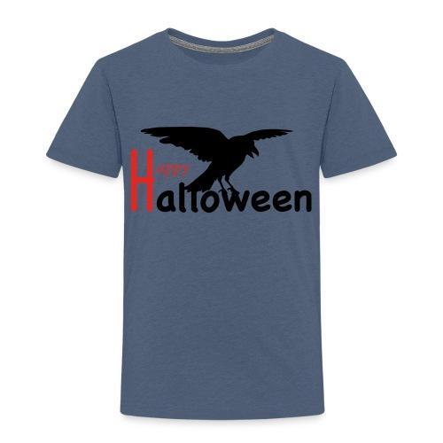 Happy Halloween - Rabe - Kinder Premium T-Shirt