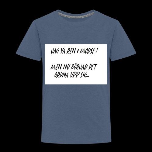 KNODD - Premium-T-shirt barn