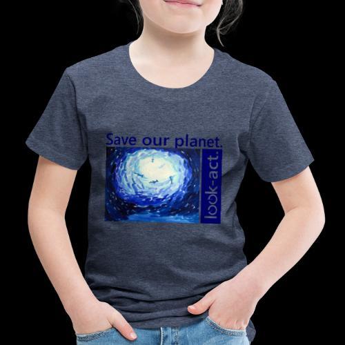 Save our planet. Unterwasserwelt. - Kinder Premium T-Shirt
