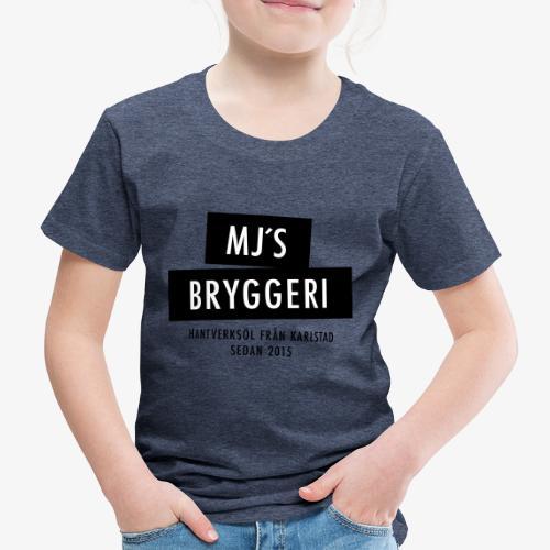 MJs logga - Premium-T-shirt barn