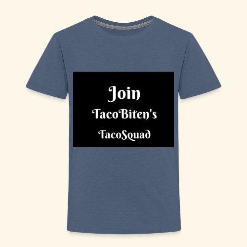 TacoBiten's squad - Premium-T-shirt barn