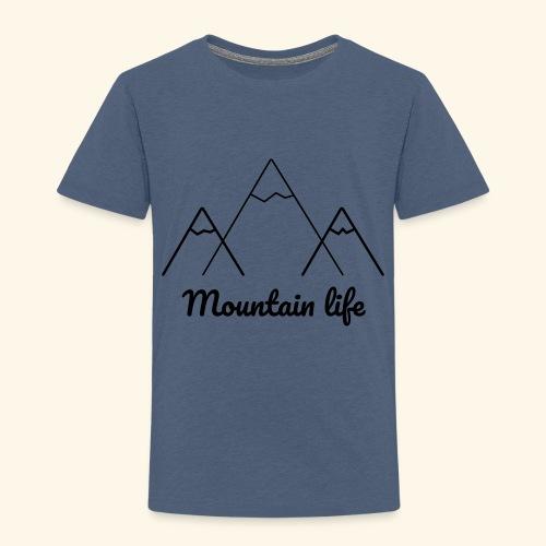 logo montagne 2 - T-shirt Premium Enfant