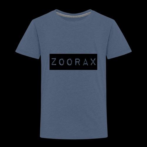 Zoorax black - Kids' Premium T-Shirt