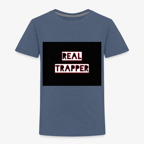 REAL TRAPPER - Kids' Premium T-Shirt