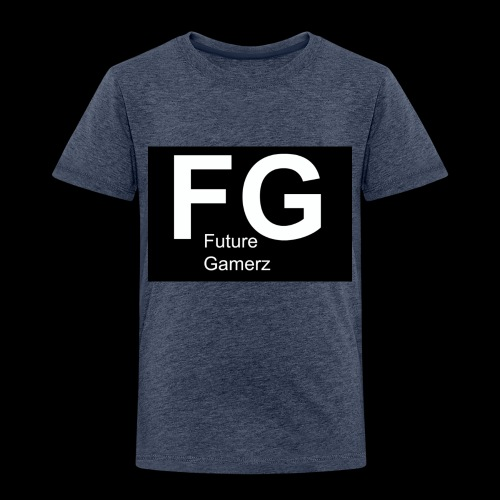 FG lofo boxed black boxed - Kids' Premium T-Shirt