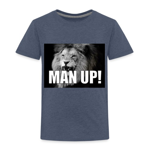 Man up - Premium T-skjorte for barn