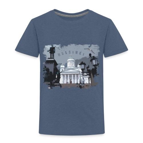 Helsinki tuomiokirkko T-paidat, hupparit, tuotteet - Lasten premium t-paita