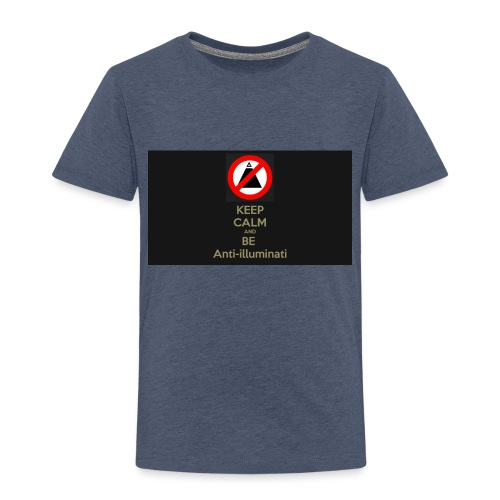 Keep calm and be anti illuminati - Kids' Premium T-Shirt