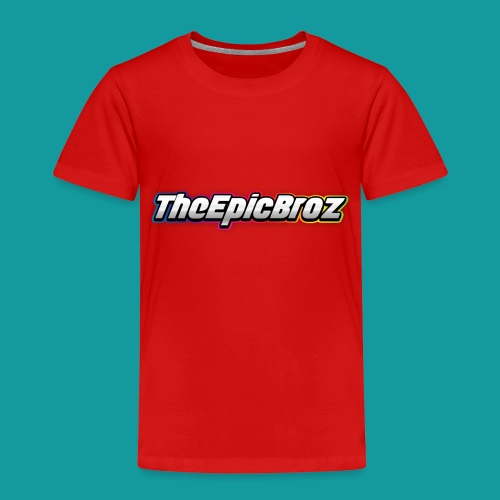 TheEpicBroz - Kinderen Premium T-shirt