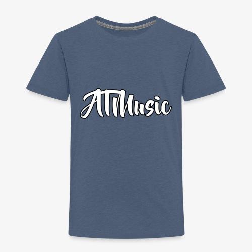 ATMusic T-Shirt Black - Premium T-skjorte for barn