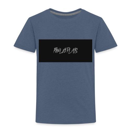 Finley plays merch - Kids' Premium T-Shirt